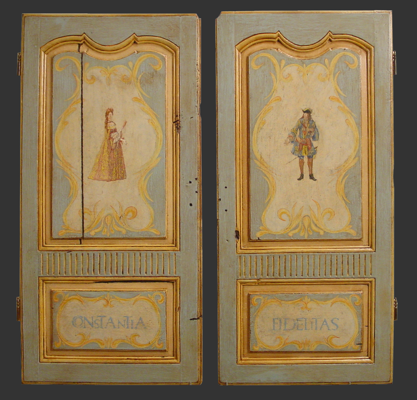 Primateria cr ation et restauration de polychromies for Meuble porte volet